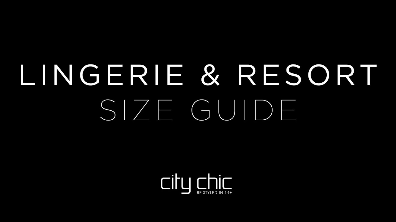 city chic au size guide