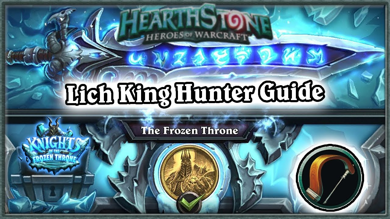 hearthstone hunter starter deck guide