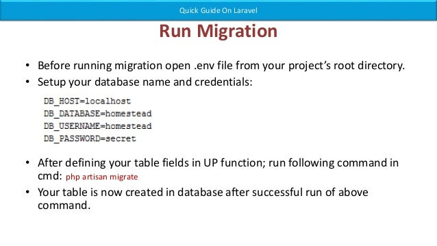 this table is intended as a guide only migration