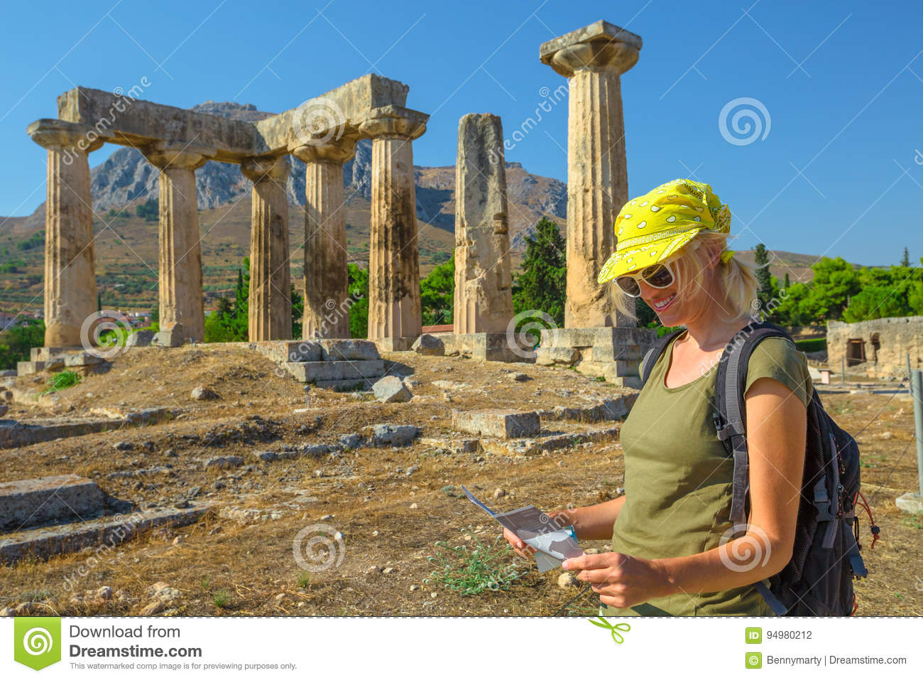 visitors guide to ancient greece age