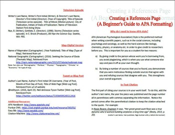 apa 6 referencing guide qut