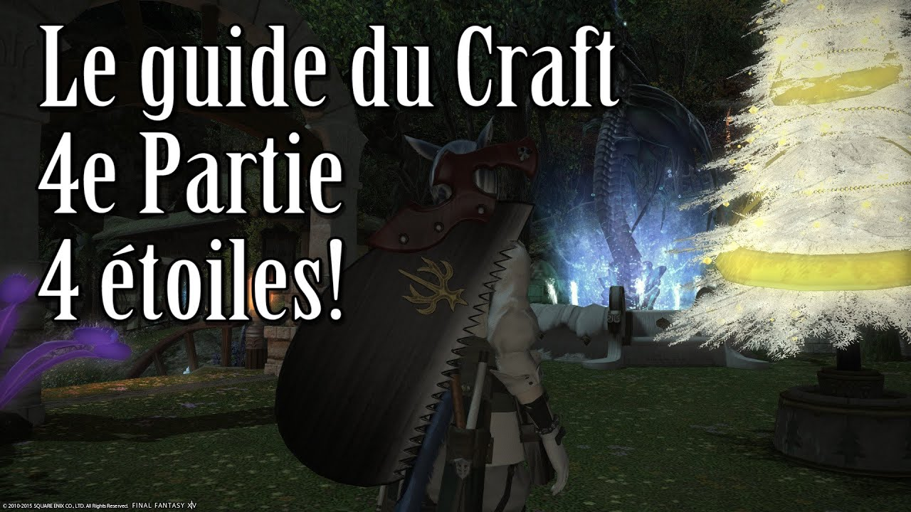 final fantasy online crafting guide