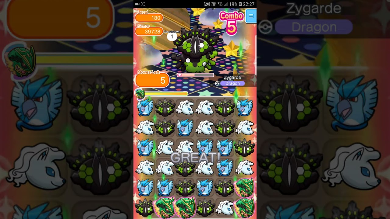 pokemon shuffle mobile stage guide