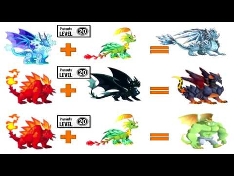 dragon city all legendary dragons breeding guide