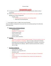 maternal newborn nursing study guide