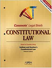 constitutional law study guide 1st edition