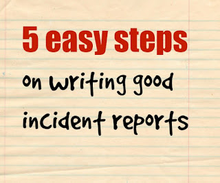 easy guide to report writing