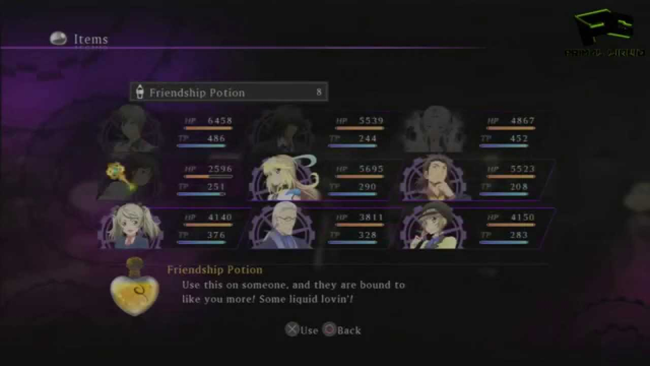 tales of xillia 2 trophy guide