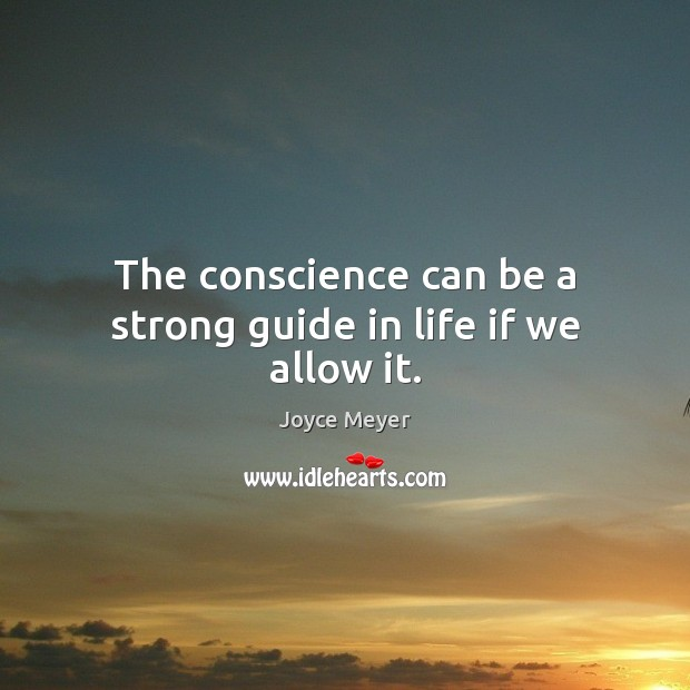 what is conscience and how is it guided by prayer