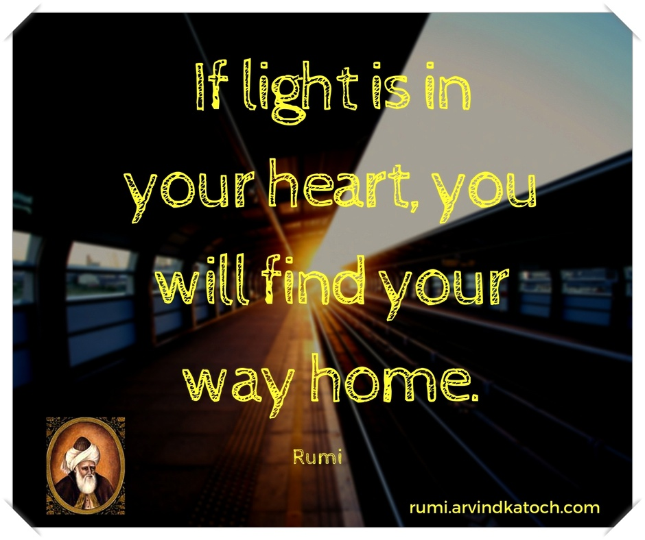 lights will guide you home quote