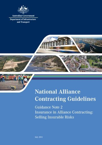 national alliance contracting guidelines guide to alliance contracting