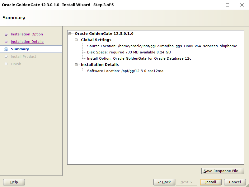 oracle goldengate installation and setup guide