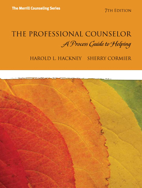 professional counseling a process guide to helping hackney 8th