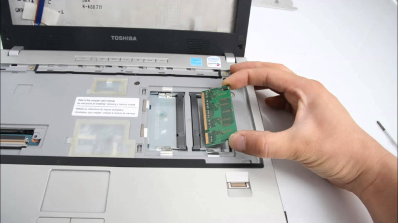 toshiba satellite pro disassembly guide
