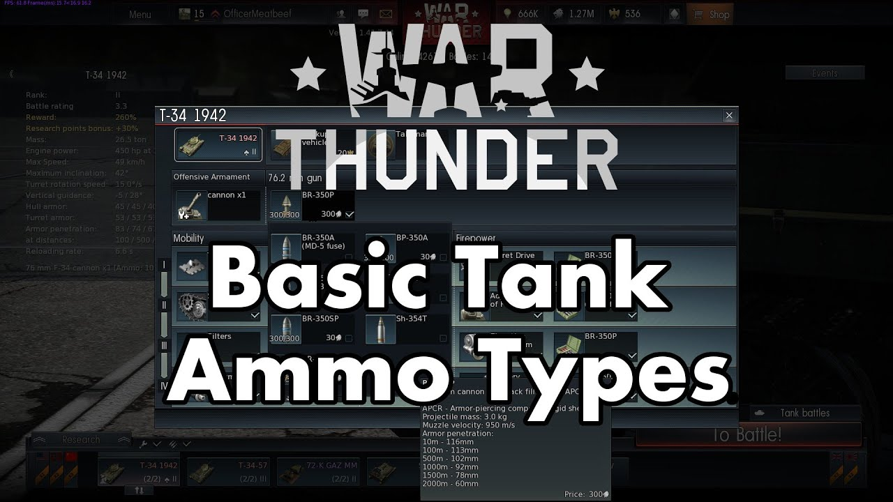 war thunder ground forces ammo guide